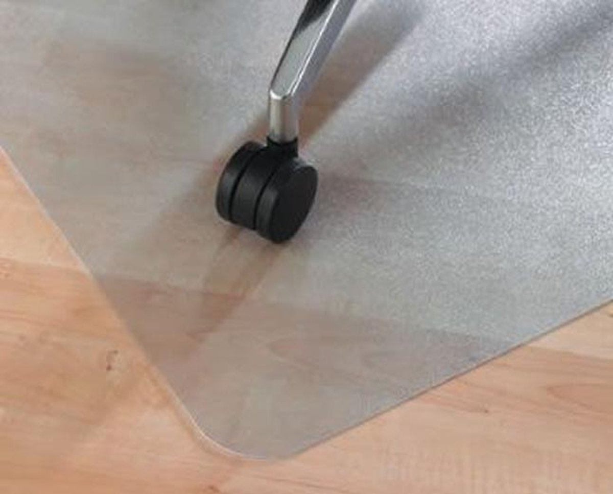 Vloerbeschermer / Bureaustoelmat PVC - Voor harde vloeren - 90x120cm