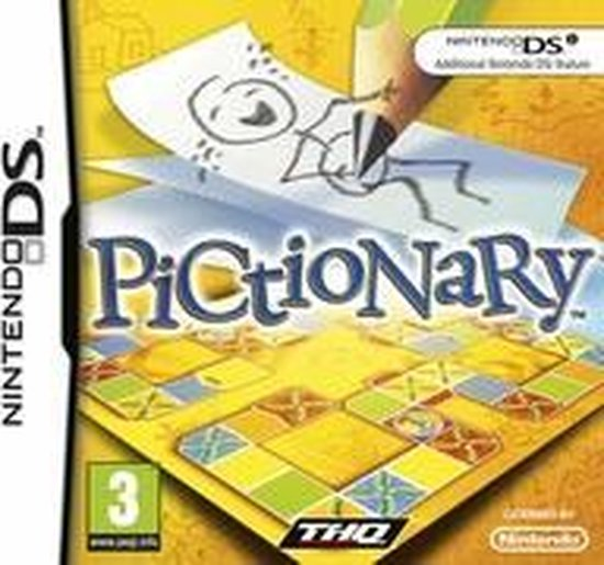 Pictionary (Nintendo DS) - THQ