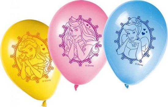 Disney Prinsessen Ballonnen 8 stuks
