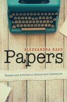 Boek cover Papers van Alessandra Raed (Onbekend)