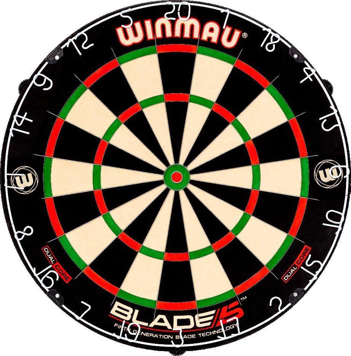 Winmau Blade 5 Dual Core - Dartbord