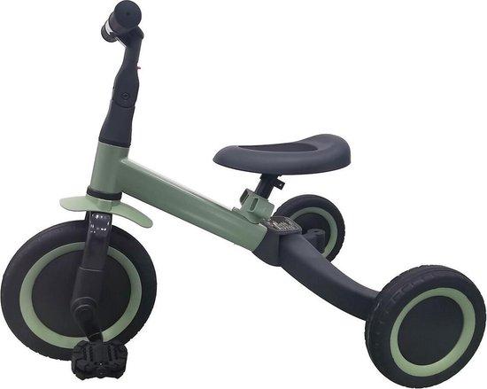 Product: Topmark 4 in1 Driewieler - Loopfiets - Balance Bike - Kaya - Groen, van het merk Topmark