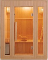 Maison's Sauna – Sauna – Stoom sauna – Finse stoom sauna – 3 persoons – 190x153x110cm