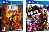 Doom Eternal + Rage 2 Double Pack - PS4