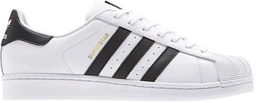 adidas Superstar Heren Sneakers - Ftwr White/Core Black - Maat 42 2/3