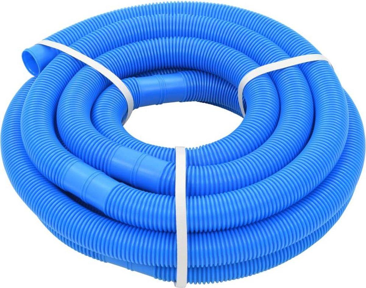 vidaXL Zwembadslang 32 mm 9.9 m blauw
