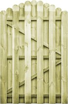 vidaXL Poort 100x150 cm FSC geïmpregneerd grenenhout