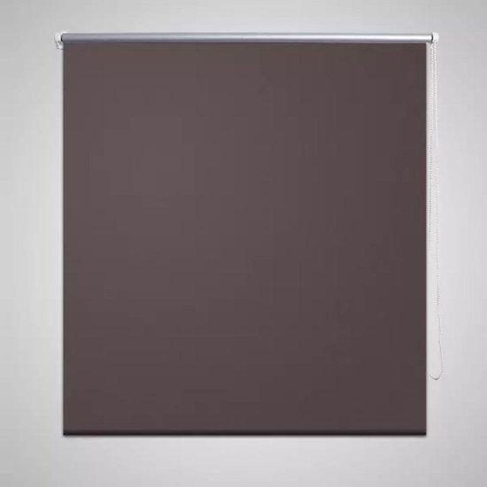 VidaXL Wonen Rolgordijn - Verduisterend 120 x 230 cm koffiebruin 240163