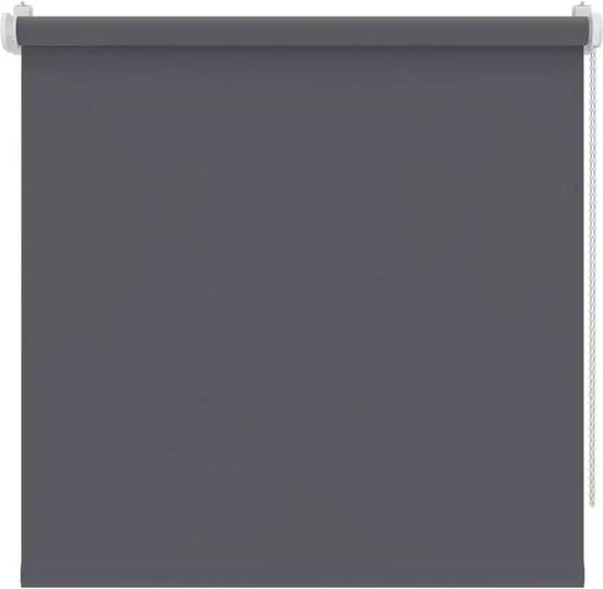 Decosol rolgordijn mini verduisterend - 97x160 cm - antraciet