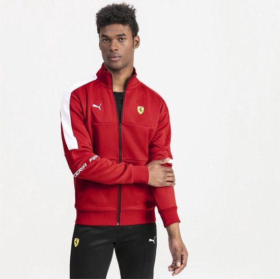 PUMA SF T7 Track Jacket jas Heren - Rosso Corsa - Maat S