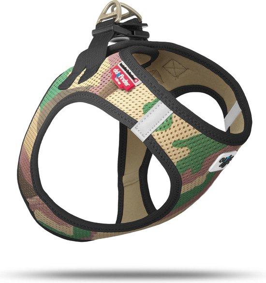 Curli Air-Mesh - hondentuig - 2XS - Camouflage