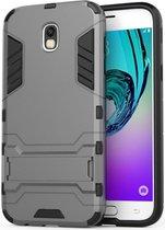 Hybride Samsung Galaxy J5 (2017) Hoesje Grijs