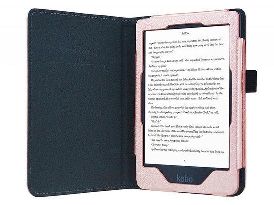 - Luxe Premium Sleepcover voor Kobo Clara Hd - Rose-Goud