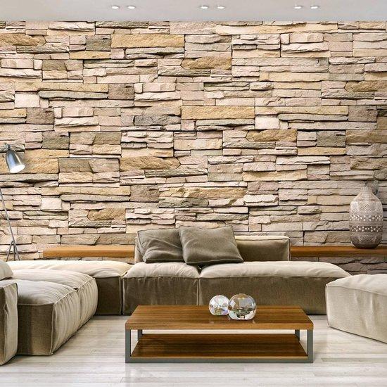 Bol Com Fotobehang Decoratieve Stenen Muur