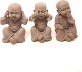 Horen zien zwijgen beeldjes | Boeddhabeelden | Gerichtekeuze