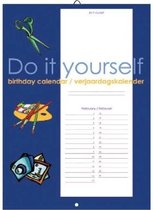 Verjaardagskalender Do-It-Yourself