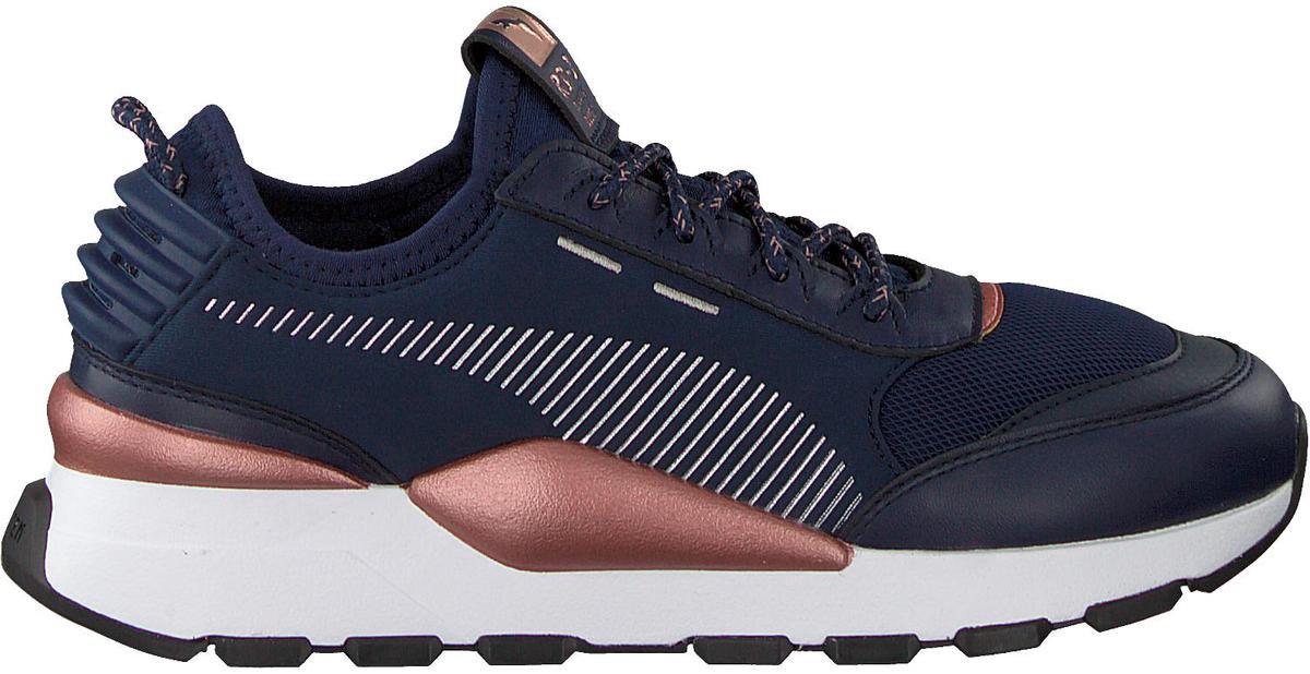 bol.com   Puma Dames Sneakers Rs-0 Trophy - Blauw - Maat 37