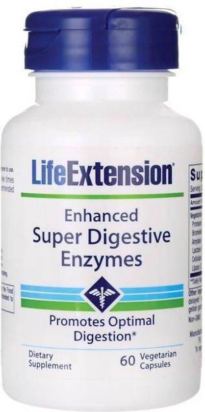 Enhanced Super Digestive Enzymes - 60 veggie caps