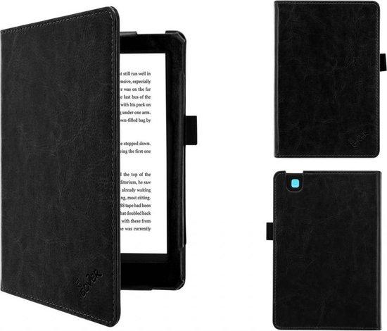 Kobo Aura 2nd edition 6 inch eReader Sleep Cover, Premium Business Case, Betaalbare zwarte Hoes-Sleepcover voor Kobo Aura editie 2 (2016), sleeve / tas, zwart , merk