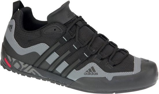 adidas Terrex Swift Solo Wandelschoenen Heren - Core Black/Grey