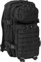 US Assault pack 20 L Zwart small
