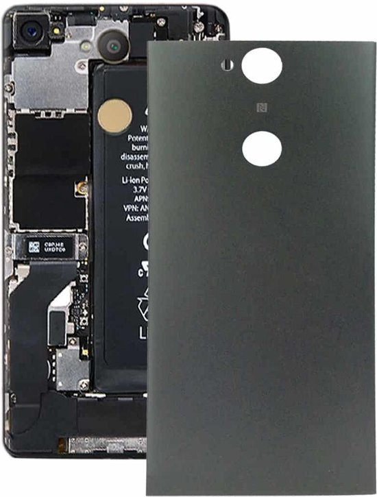 Let op type!! Back Cover for Sony Xperia XA2 Plus(Black)