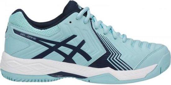 Asics Gel-Game 6 Clay blauw tennisschoenen dames (E756Y-1449)