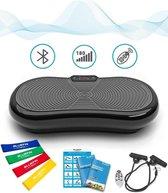 Bluefin Fitness Trilplaat   Hometrainer   Trilplaat Fitness   Bluetooth speaker   5 programma's   180 niveaus   Afstandsbediening