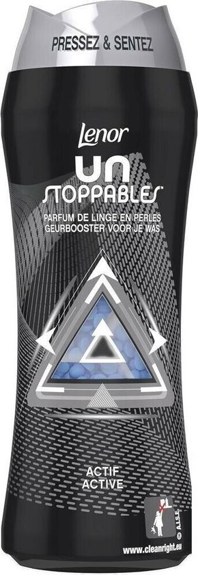 6x Lenor Unstoppables Geurboosterparels Actief 285 gr