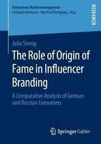 The Role of Origin of Fame in Influencer Branding