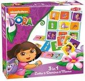 Dora 3 in1 Lotto, Domino & Memo