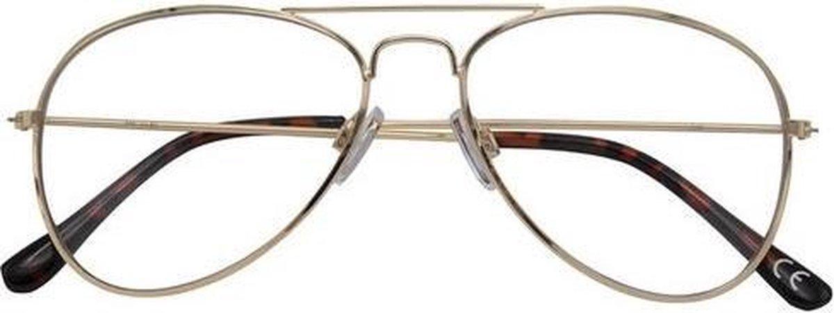 Croon Leesbril Ann Dames Goud/zwart Sterkte +1.00 kopen