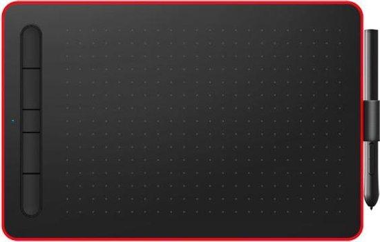 Lovidia Grafische Teken Tablet - PC en Telefoon - 5080 lpi - 210 x 140 mm - Classic Red