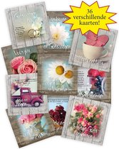 Voordeelpak 36 christelijke kaarten met envelop Brocante