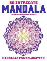50 Intricate Mandala Coloring Books For Adults