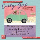 2021 the World According to Curly Girl 16-Month Wall Calendar