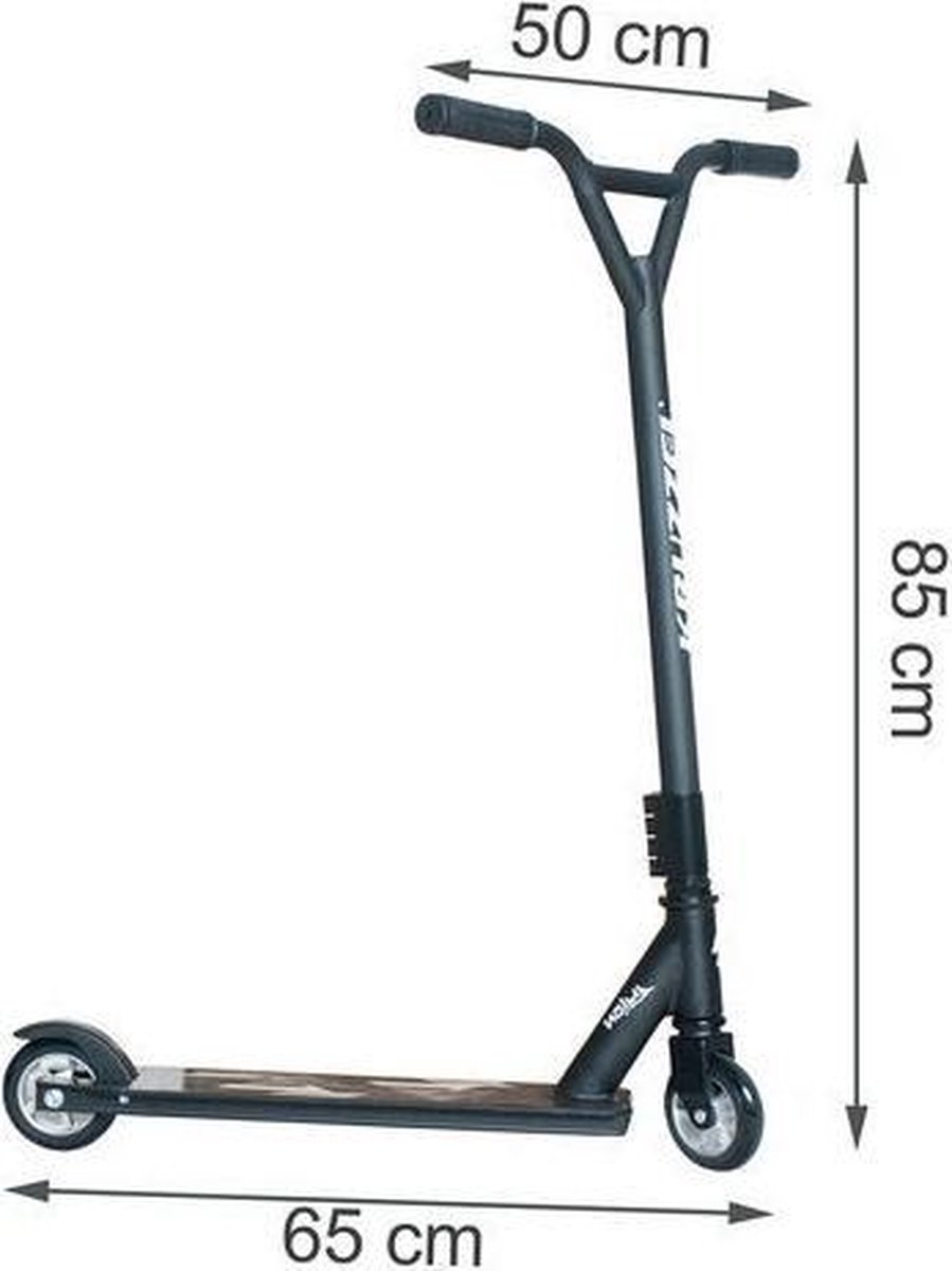 Freestyle Stunt Scooter Step Pro - ABEC 9 lagers - Ultra Lightgewicht