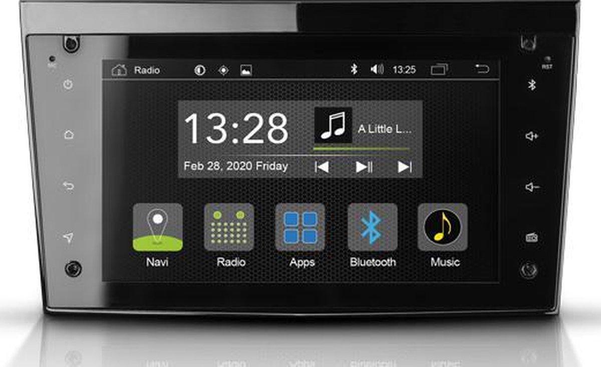Radical R-C11OP2 – Pasklare Android autoradio Opel Astra - Antara - Corsa - Zafira