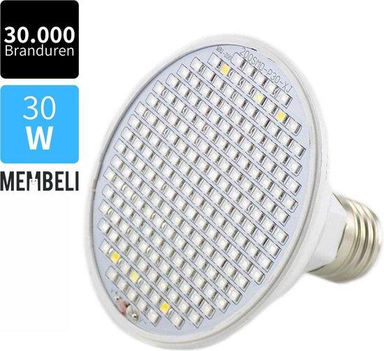 Full Spectrum LED Kweeklamp - 196 LED E27 Groeilamp - Full Spectrum - Kweeklamp LED - Bloeilamp - Groeilicht - Grow Led lamp