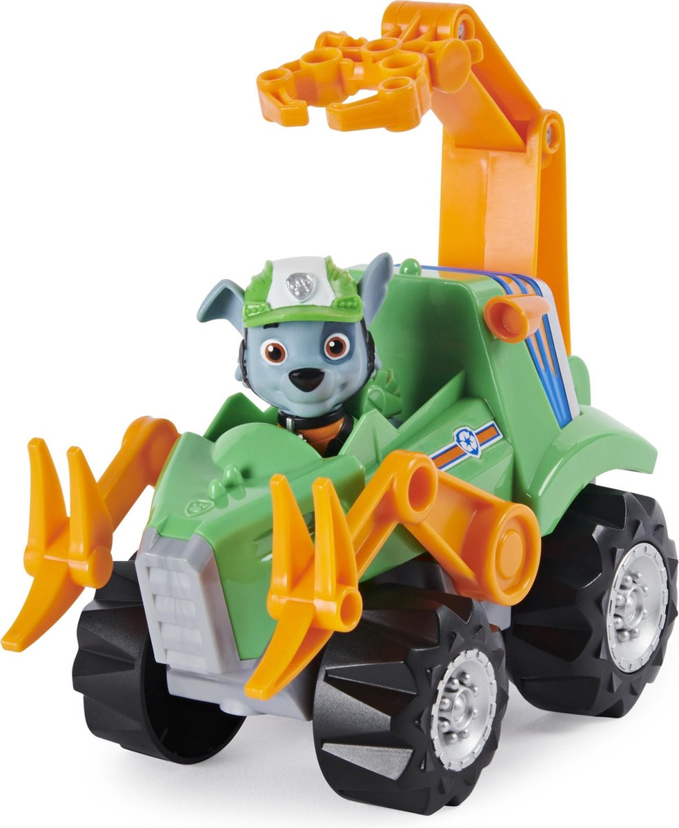 PAW Patrol Dino Rescue - voertuig met Rocky