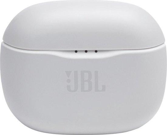 JBL Tune 125TWS Wit - Volledig draadloze oordopjes
