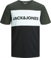 JACK&JONES JUNIOR JJELOGO Jongens T-Shirt - Maat 152