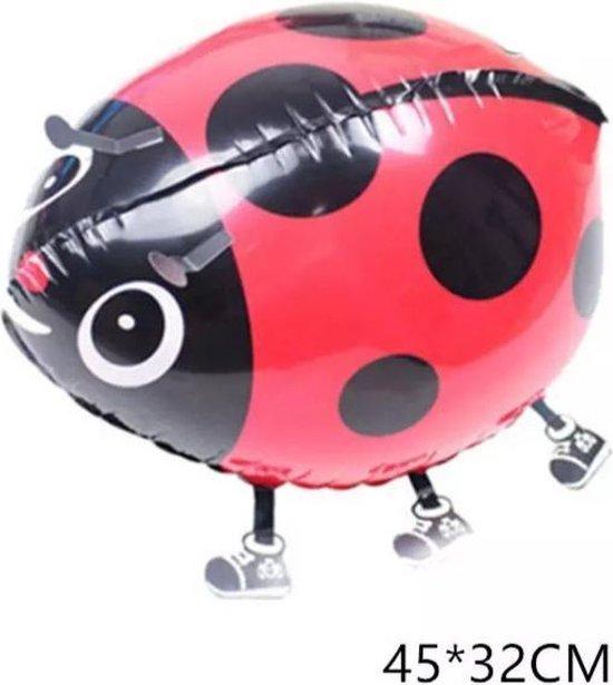wandelende ballon airwalker lieveheersbeestje