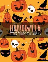 Halloween Toddler Coloring Books Ages 1-3: A Fun Kid Halloween season And Great Gift for Kids