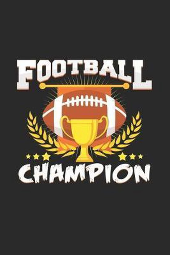 Football champion: 6x9 Football - grid - squared paper - notebook - notes