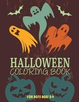 Halloween Coloring Books for Boys Ages 2-4: Kids Halloween Book, Fun for All Ages