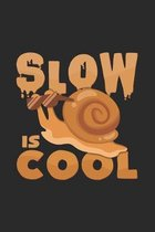 slow is cool: 6x9 Snail - dotgrid - dot grid paper - notebook - notes