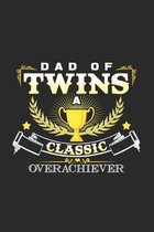 Dad of twins: 6x9 Twins - grid - squared paper - notebook - notes