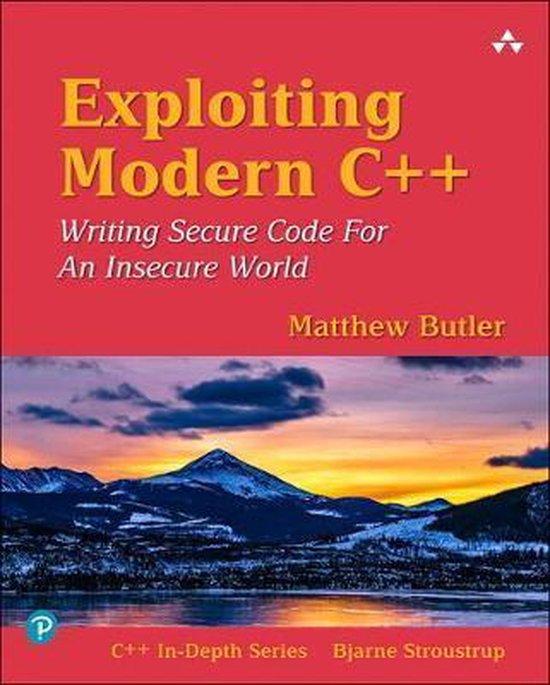 Boek cover Exploiting Modern C++ van Matthew Butler (Paperback)
