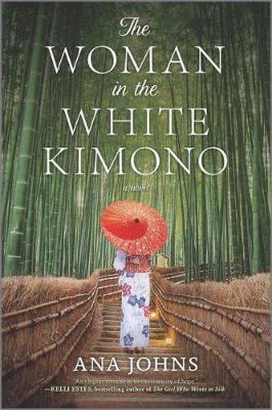 Boek cover The Woman in the White Kimono van Ana Johns (Paperback)
